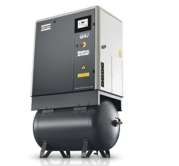 Atlas-Copco-Oil-Injected-Screw-Air-Compressor-Compressor-Air-Compressor-GA5-GA7-GA11-